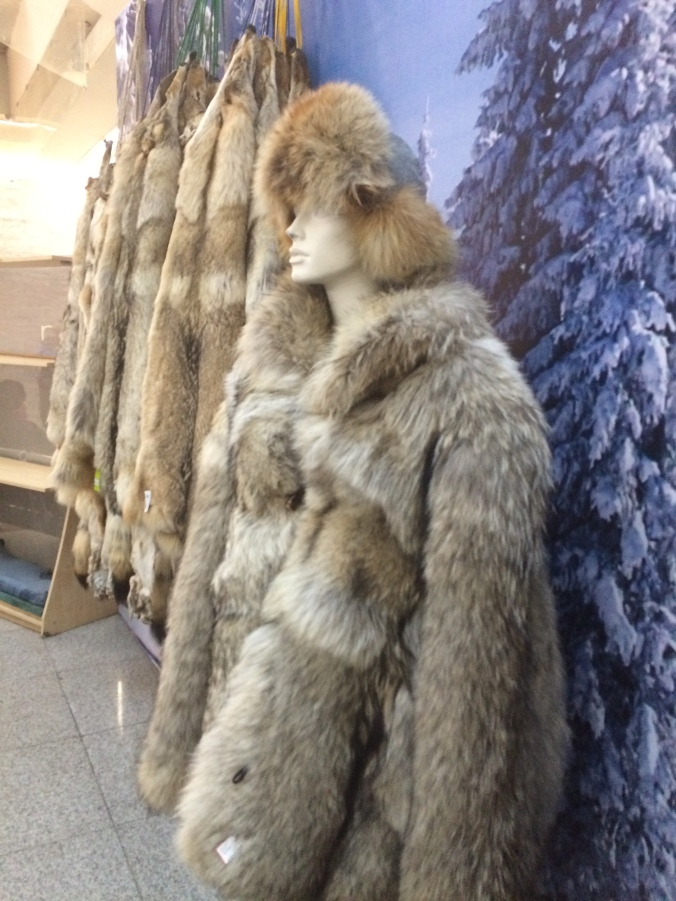 Coats...pelts...take your choice!